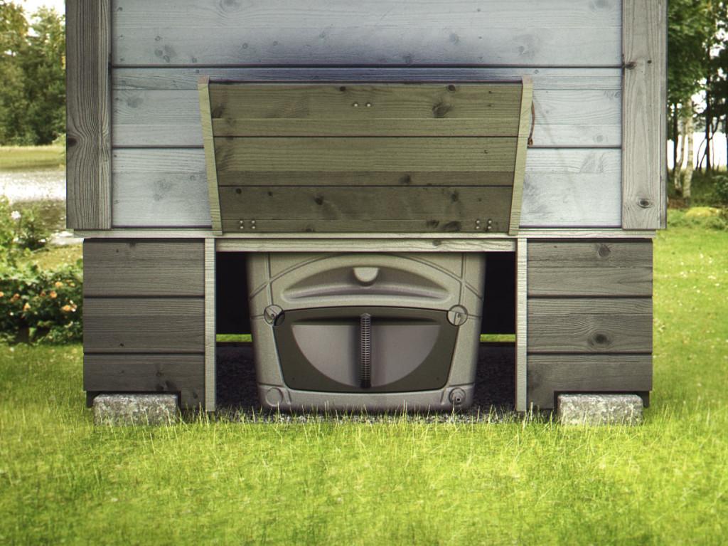 биотуалет на торфе